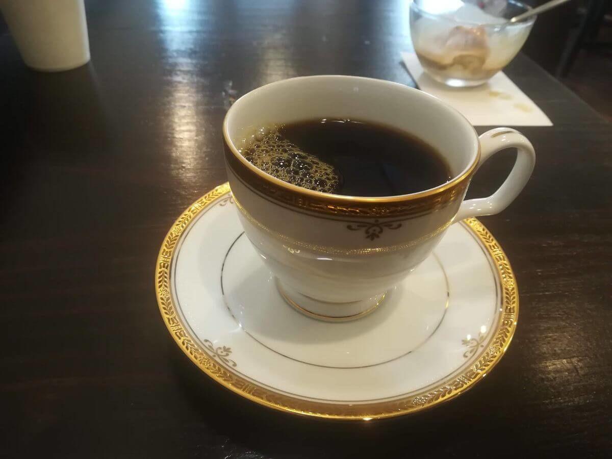 深大寺カフェのコーヒー