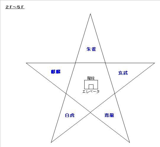 図_五陵亭旅館(2F-5F)