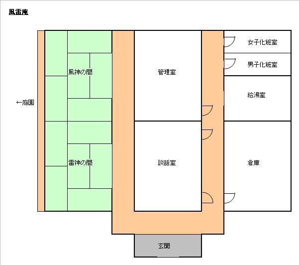 図_五陵亭旅館別館(風雷庵)