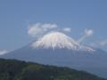 東名富士川サービスエリアにて 2013.1.4 撮影