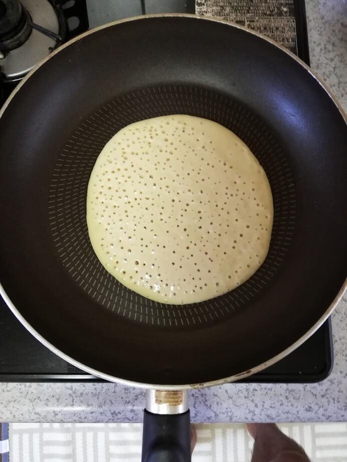 ファインラボのパンケーキ焼き方