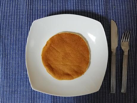 ファインラボのパンケーキ出来上がり