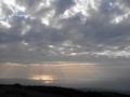 鳥海山、鉾立から日本海をのぞむ