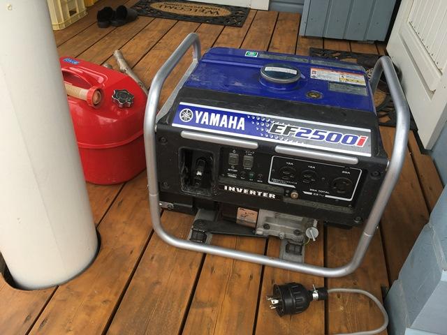 一般家庭におけるポータブル発電機の備えとメンテナンス ...