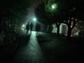 メインストリート深夜