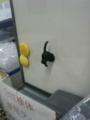 てすと。検査室のネコマグネット
