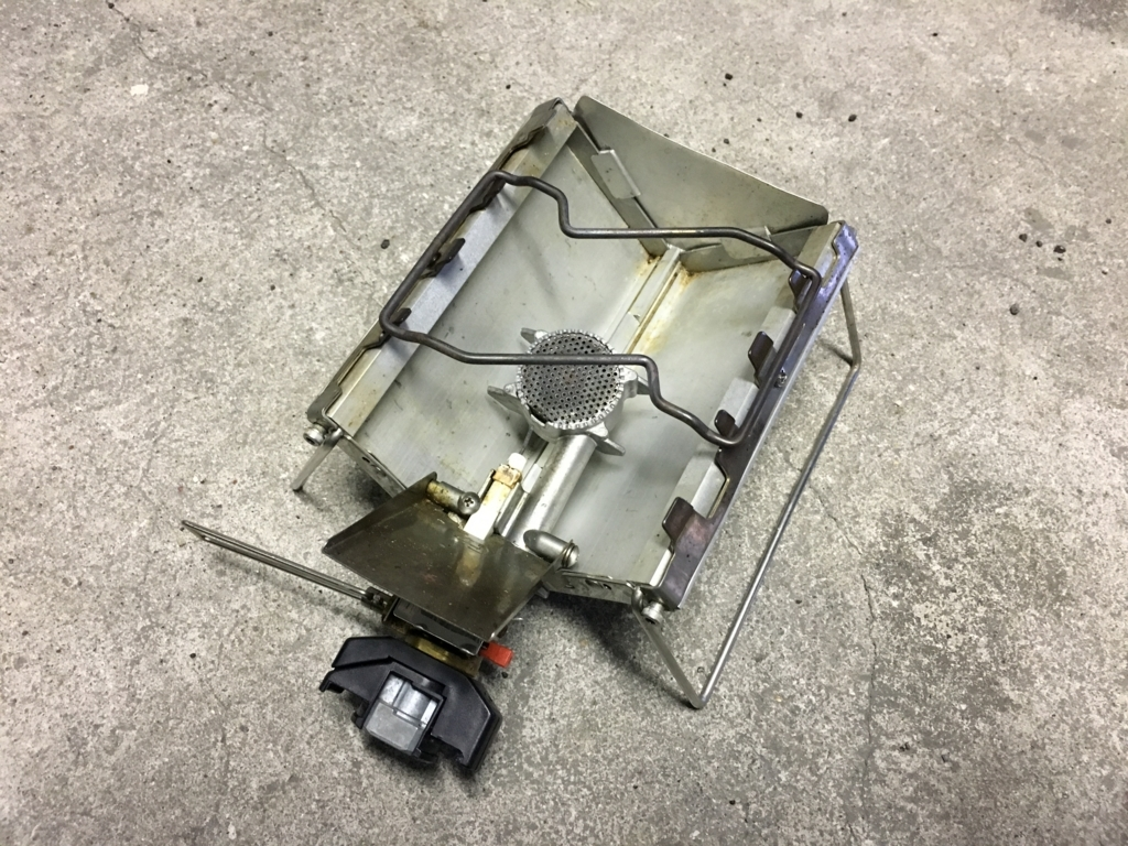 SOTO Gストーブの改良 DIY