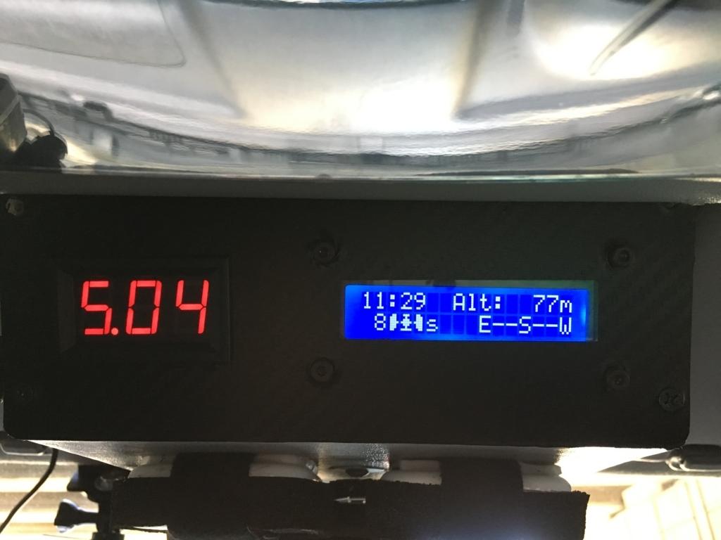 JB23ジムニー 自作GPSモニター取付け