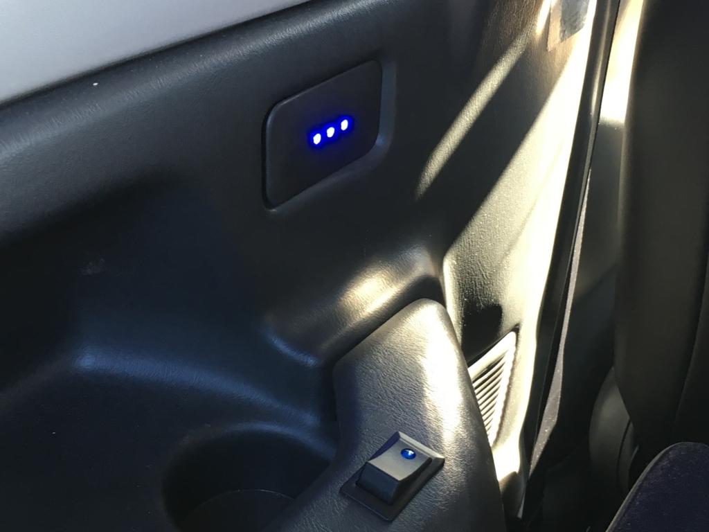 JB23ジムニーの室内灯を青色LED化 ②