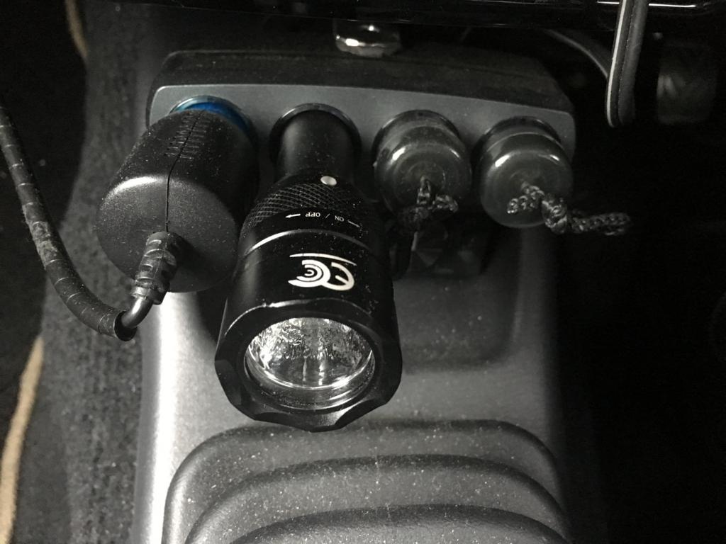 車に常備して常にフル充電!DIYでもキャンプでも便利なライト