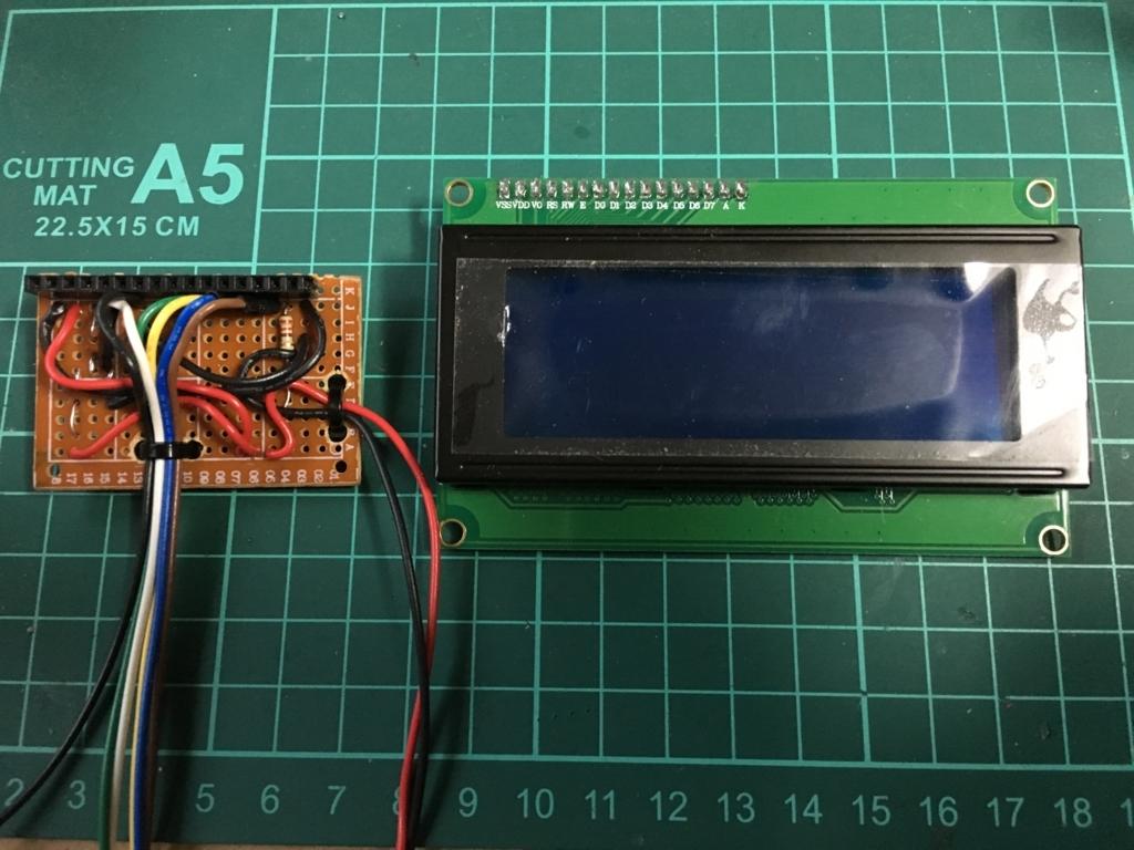 JB23ジムニー オーバーヘッドコンソールにモニターをつける