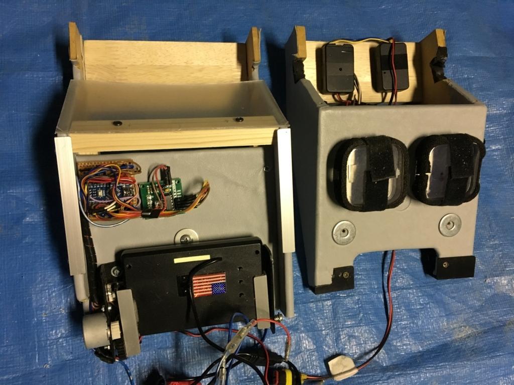 Arduinoで作動するオートフリップダウンモニターを新しいオーバーヘッドコンソールに移動