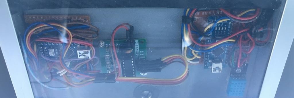 Arduinoの車載状態
