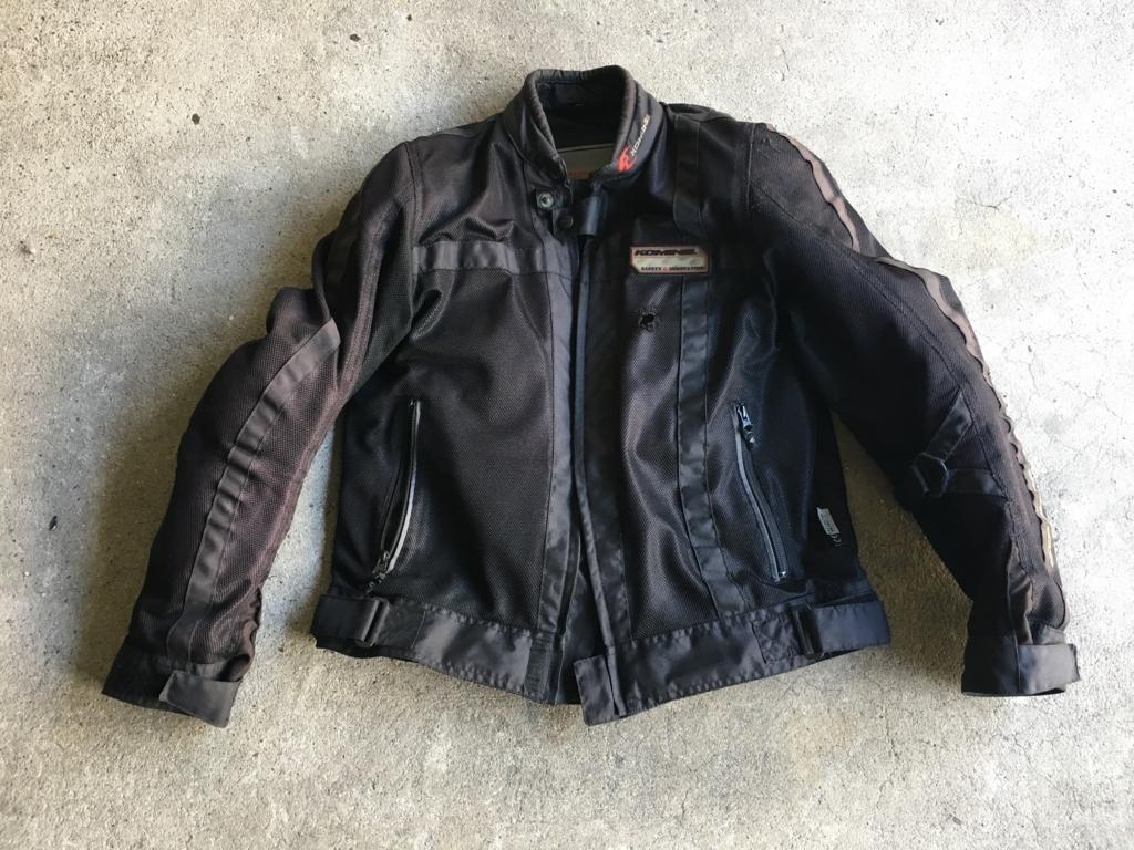 コミネのメッシュジャケットで安心バイクライフ