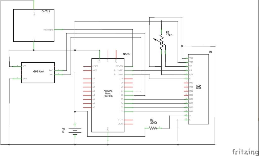 DHT11で温度と湿度をディスプレイに表示するArduinoスケッチ