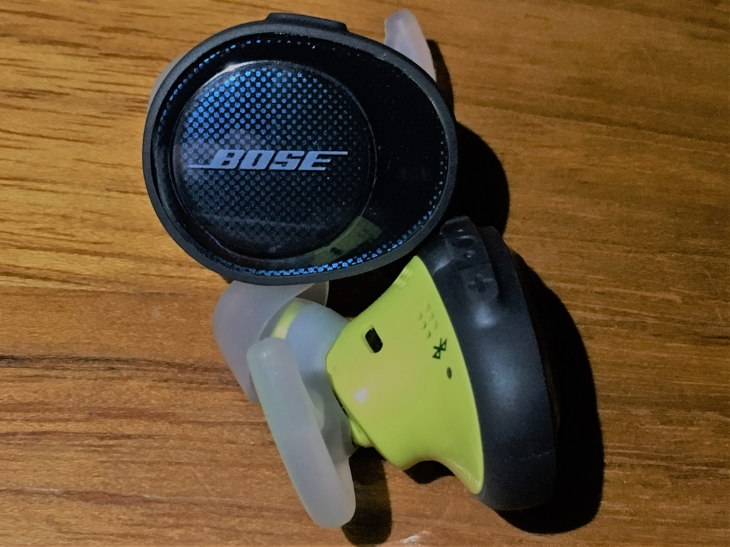 Bose SoundSport Free wireless headphonesの感想