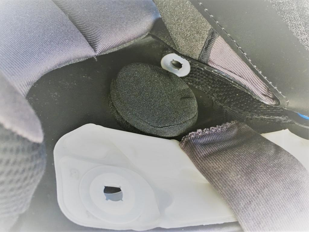 市販のヘルメット埋め込み用スピーカーは重低音が聴こえない