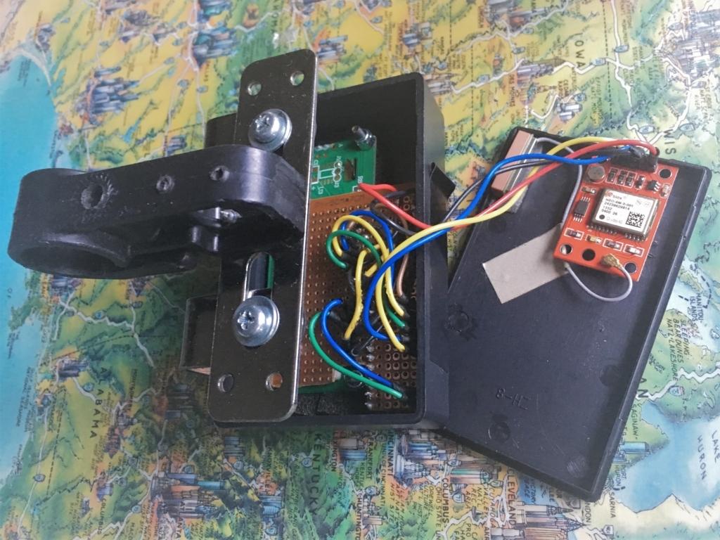 スピードメーターをバイク用で自作~ArduinoとGPSモジュール