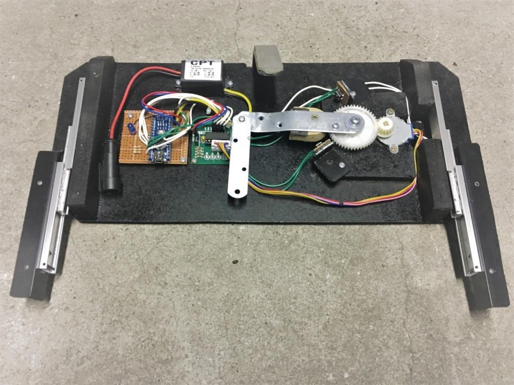 Arduinoと28BYJ-48を使う。電動スライド開閉式テーブルの自作