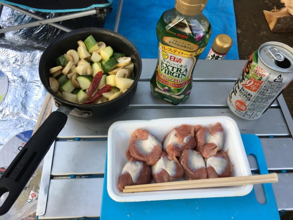砂肝は簡単にさばけて、アヒージョも串焼きも最高に美味しかった
