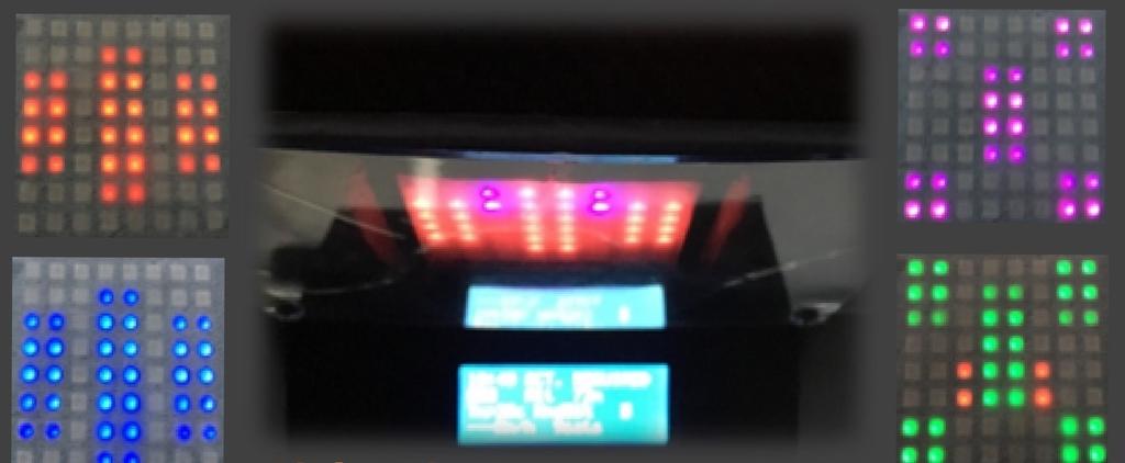 LEDサウンドレベルメーターの自作。WS2812Bをナイトライダー風に光らせる