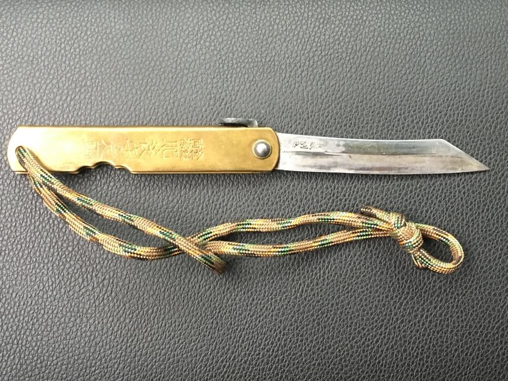 フェザースティックに適したナイフ
