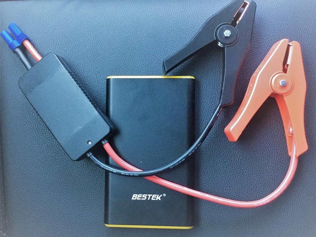ジャンプスターター兼用のモバイルバッテリー