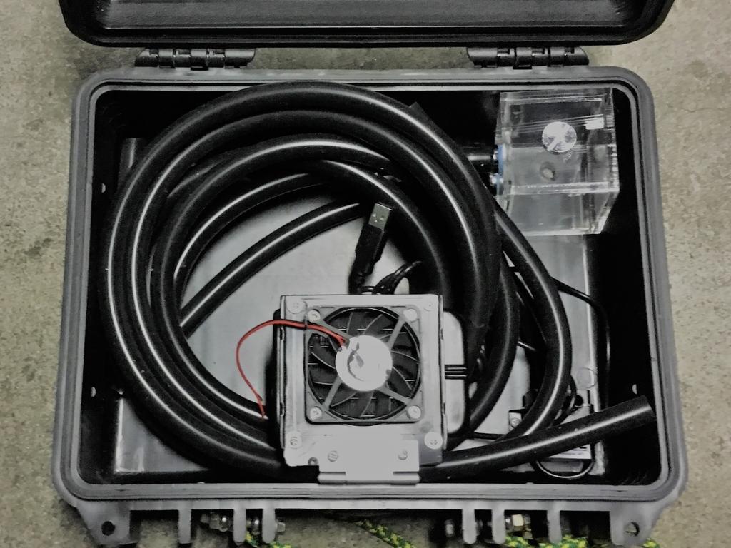 小型テント用の電動ヒーターをモバイルバッテリーで動かす