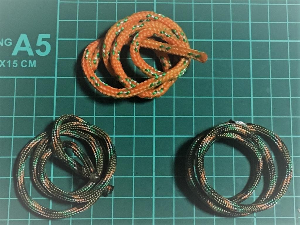 パラコードとガイライン用ロープの使い方