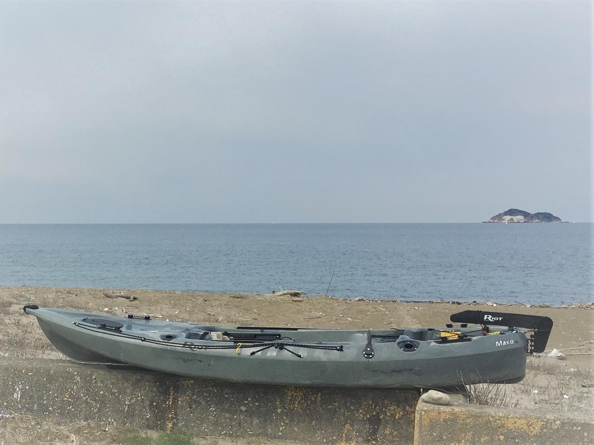 太平洋の近くで浮いてみた。足漕ぎカヤックRiot Mako10