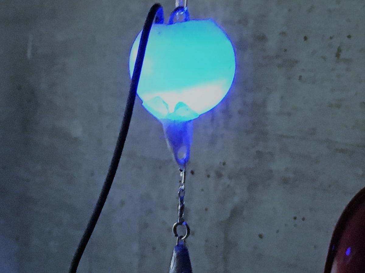 卓球の玉を使って自作する集魚灯