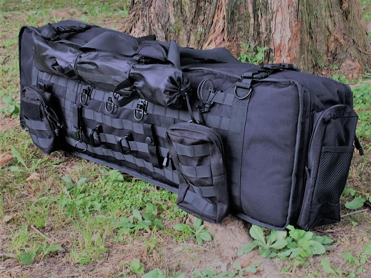 MOLLE(モール)システムのバッグでキャンプに行く