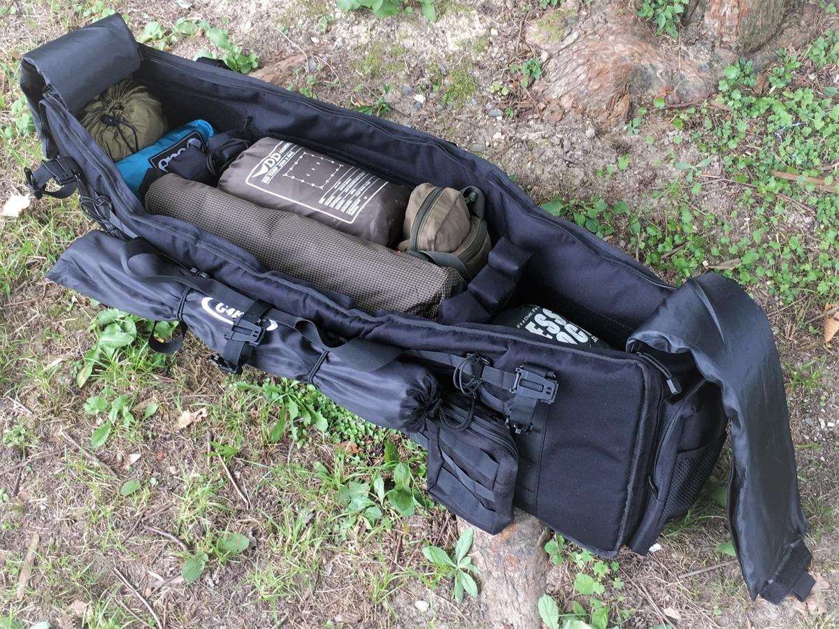 キャンプにピッタリの、タクティカルなバッグを見つけた