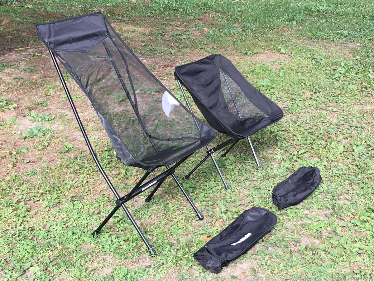 耐久性や強度で比較して選ぶキャンプ用の軽量チェア
