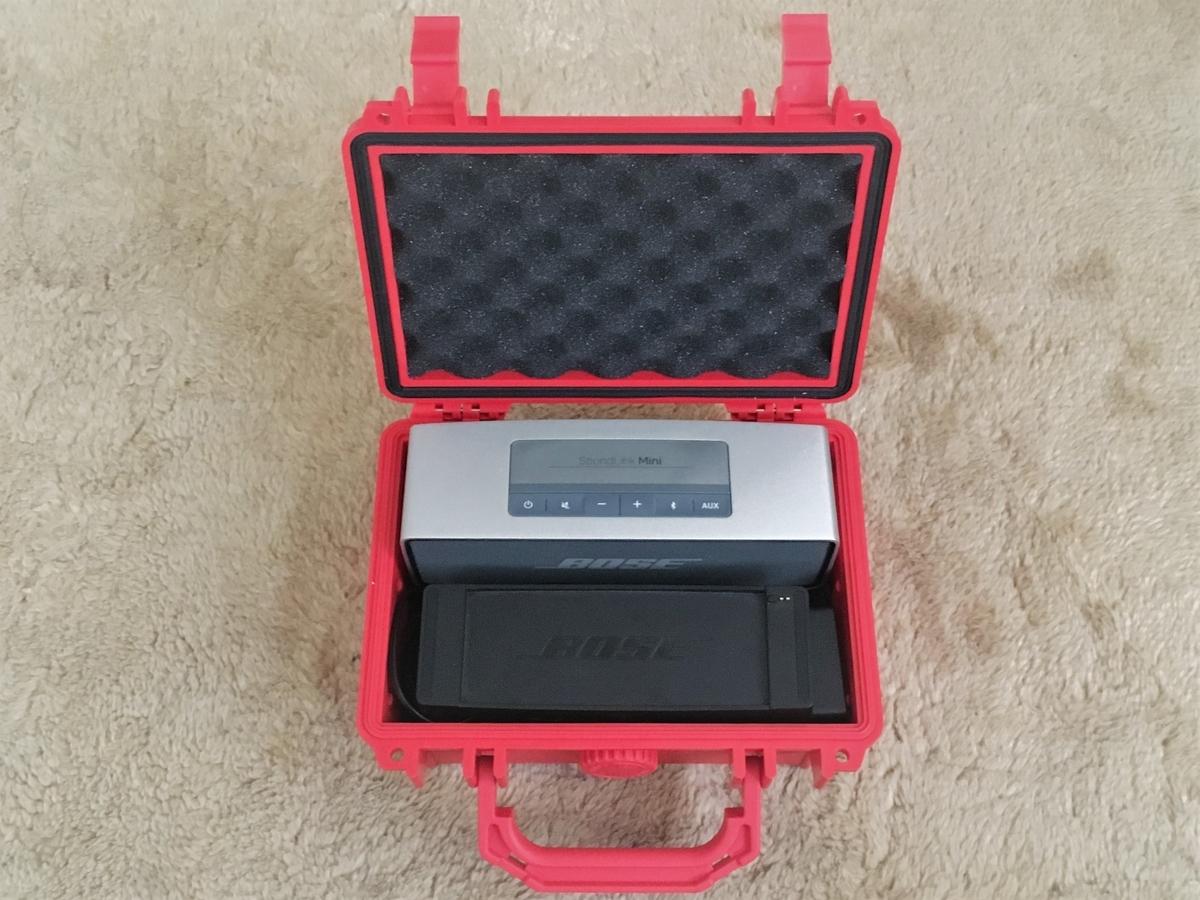 SoundLink Miniにぴったりのプロテクターケース