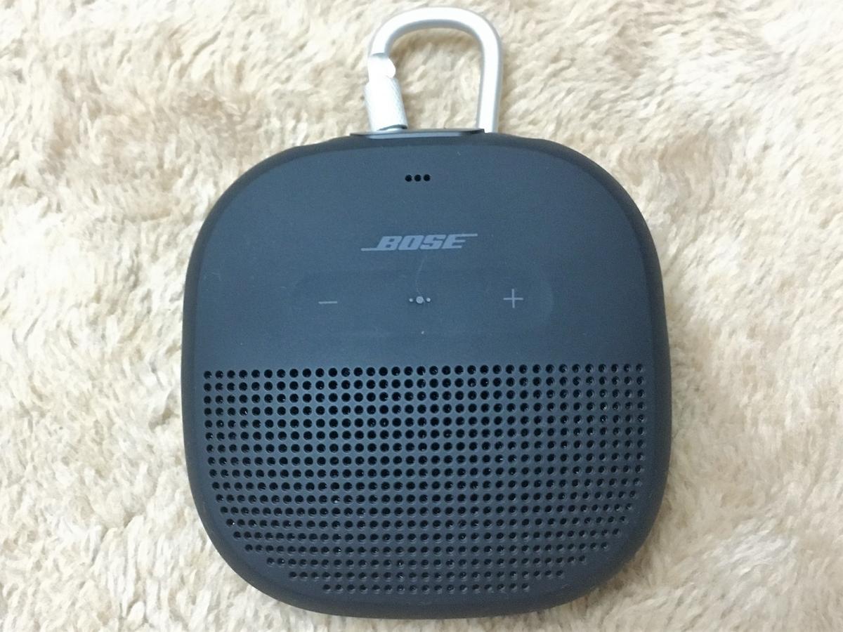 Bose SoundLink Microにストラップやカラビナを簡単につけよう!