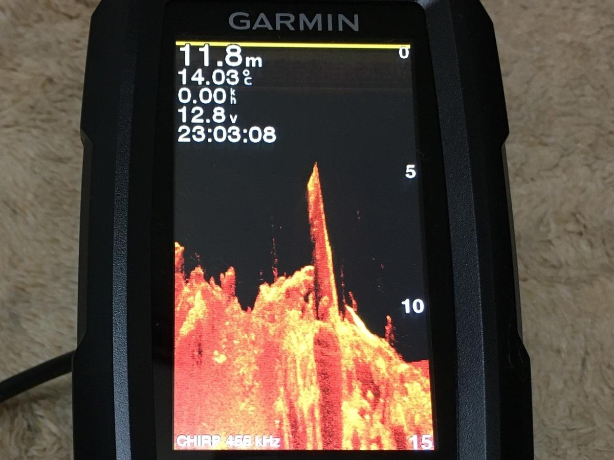 GARMINストライカーPlus 4cvのクリアビュー画面