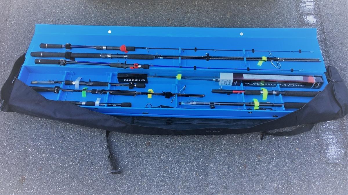 自分専用のロッドケースをDIY。150cmを超える仕舞寸法のロッドで遠征したい!