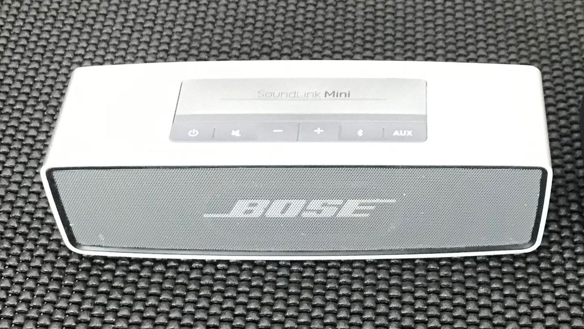 SoundLink Miniをテレビ用スピーカーとして使ってみた