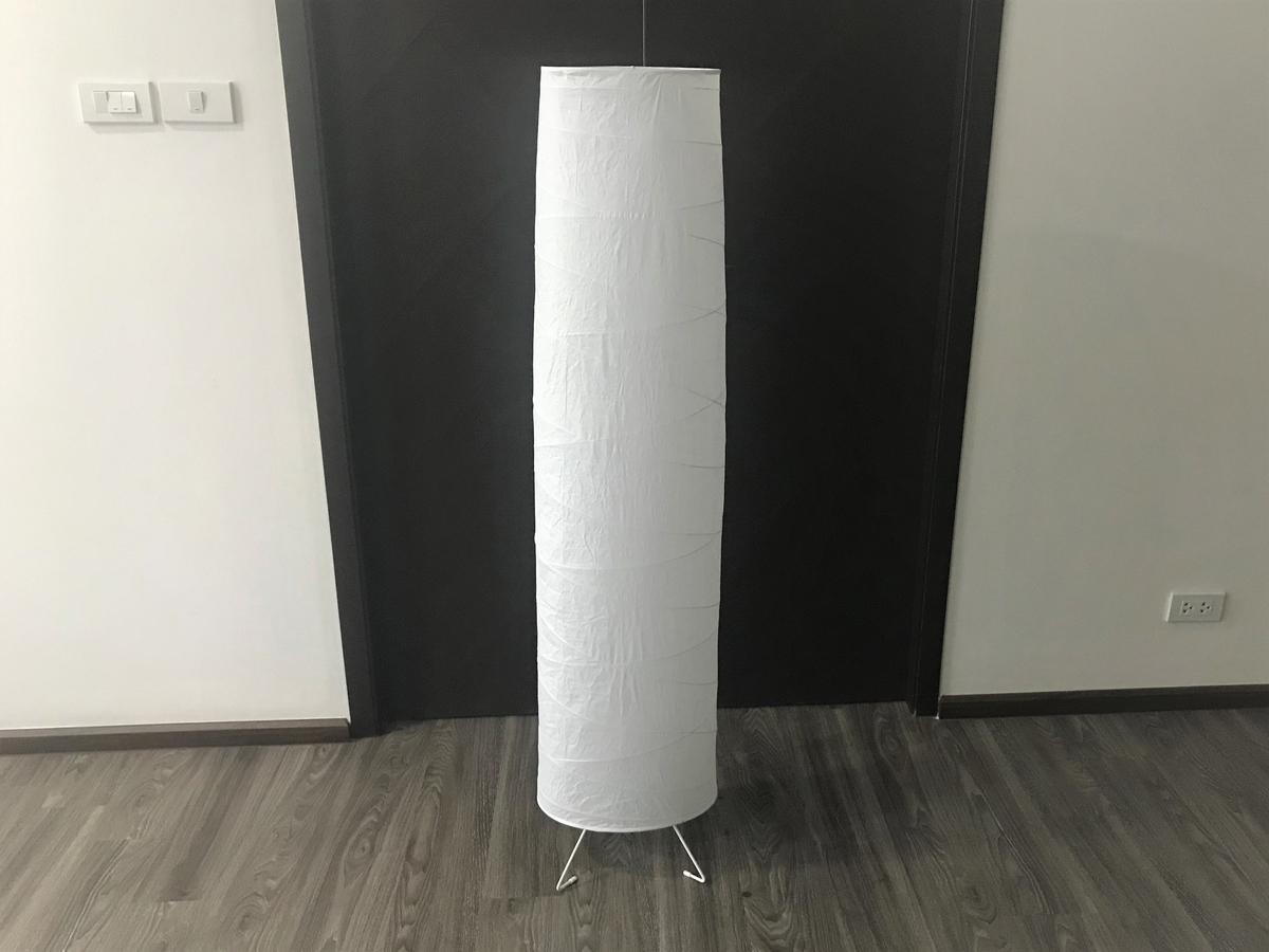 IKEAのフロアランプに、カラフルなLEDを仕込もう!