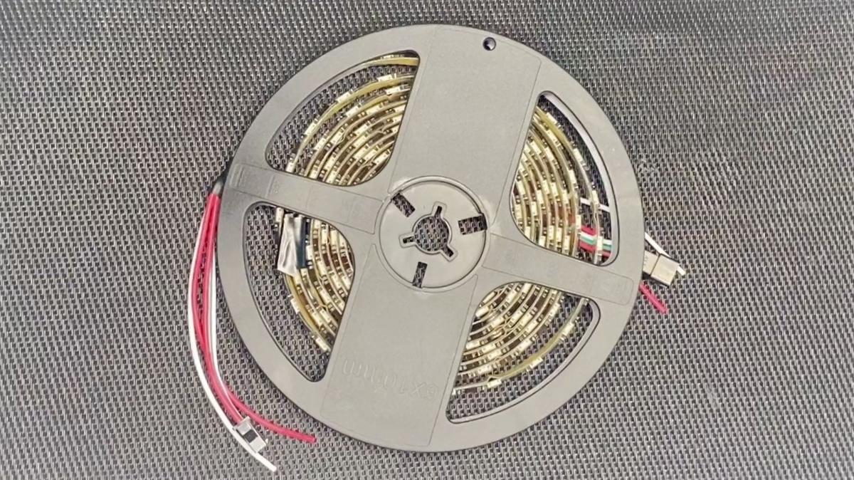 WS2812Bで、炎のランプを!