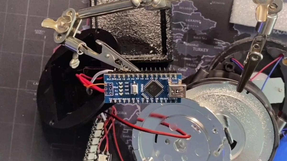 Arduinoをランタンに埋め込む!