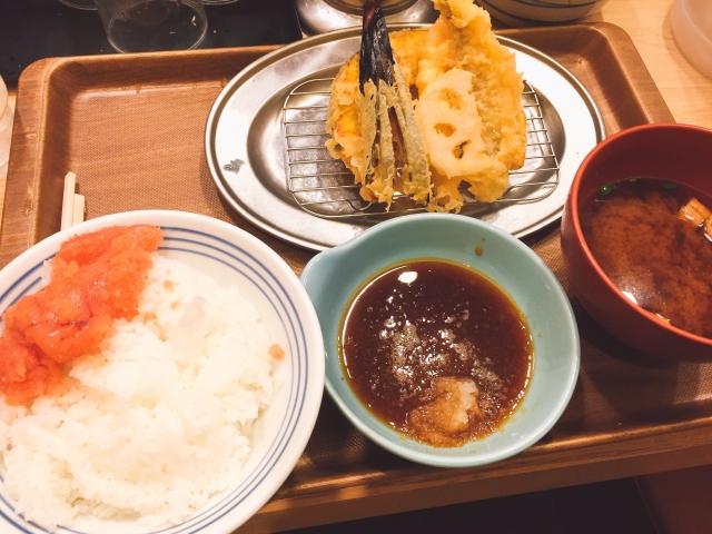 えびのや_ランチタイム・ディナータイム_天ぷら定食_850円 _