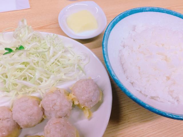 一芳亭 本店_ランチタイム・ディナータイム_しゅうまい定食 _750円 _