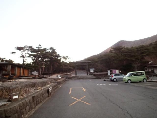 高千穂登山口駐車場の写真