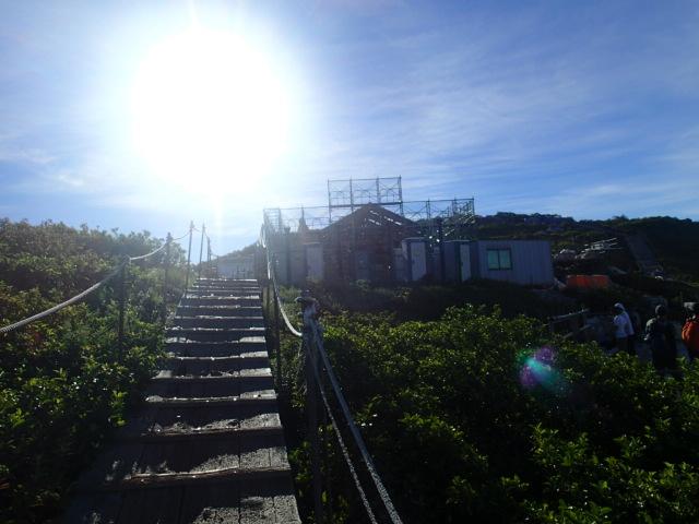 山頂手前の写真1