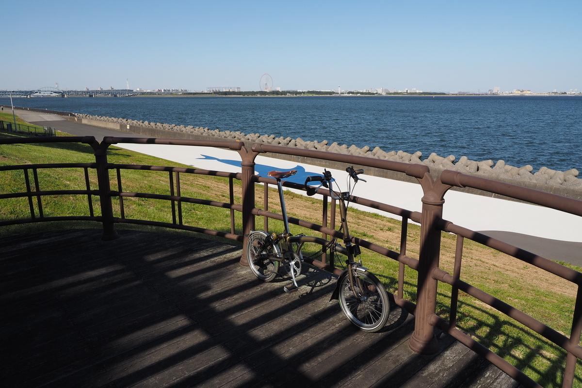ブロンプトン 若洲公園サイクリングコース