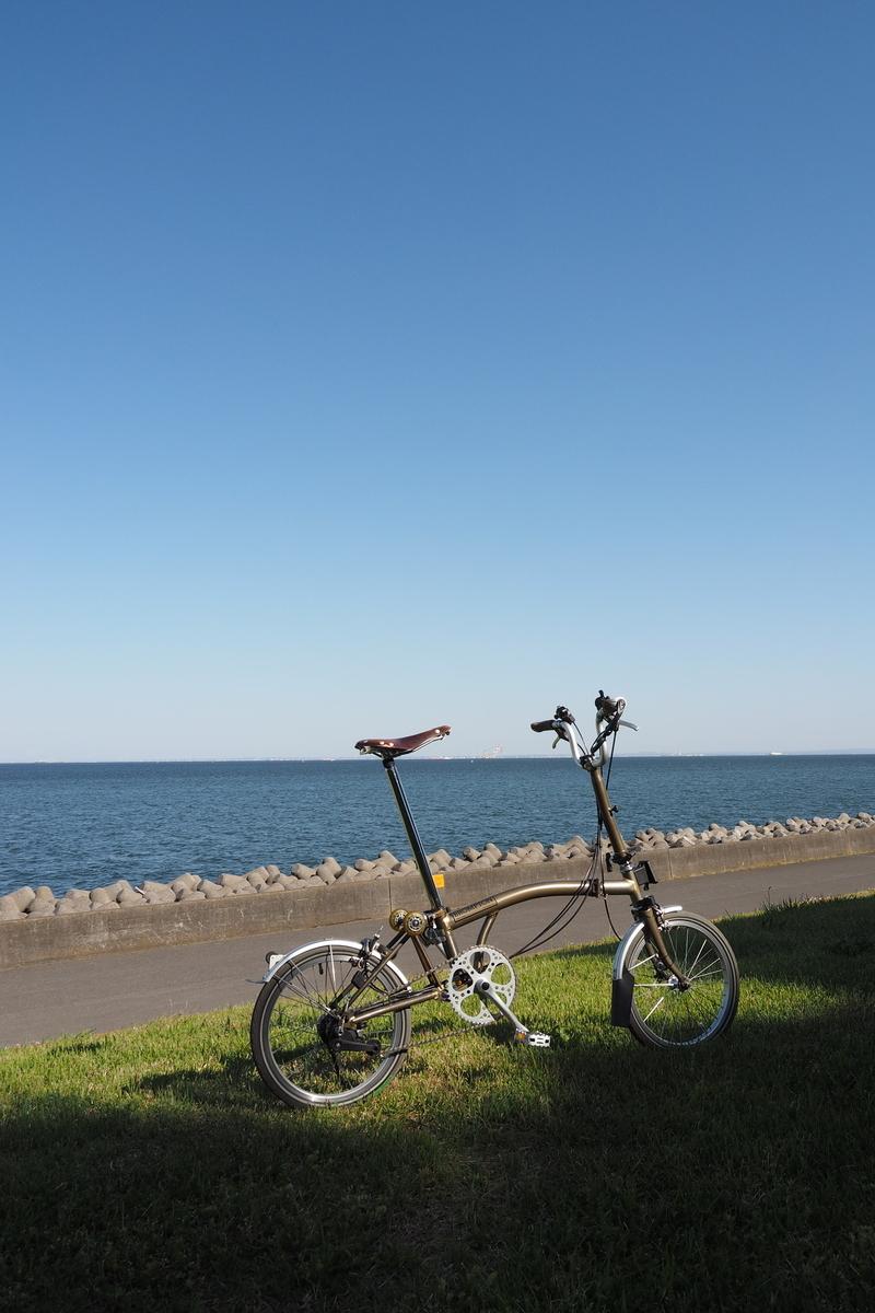 ブロンプトン 若洲海浜公園 サイクリングコース