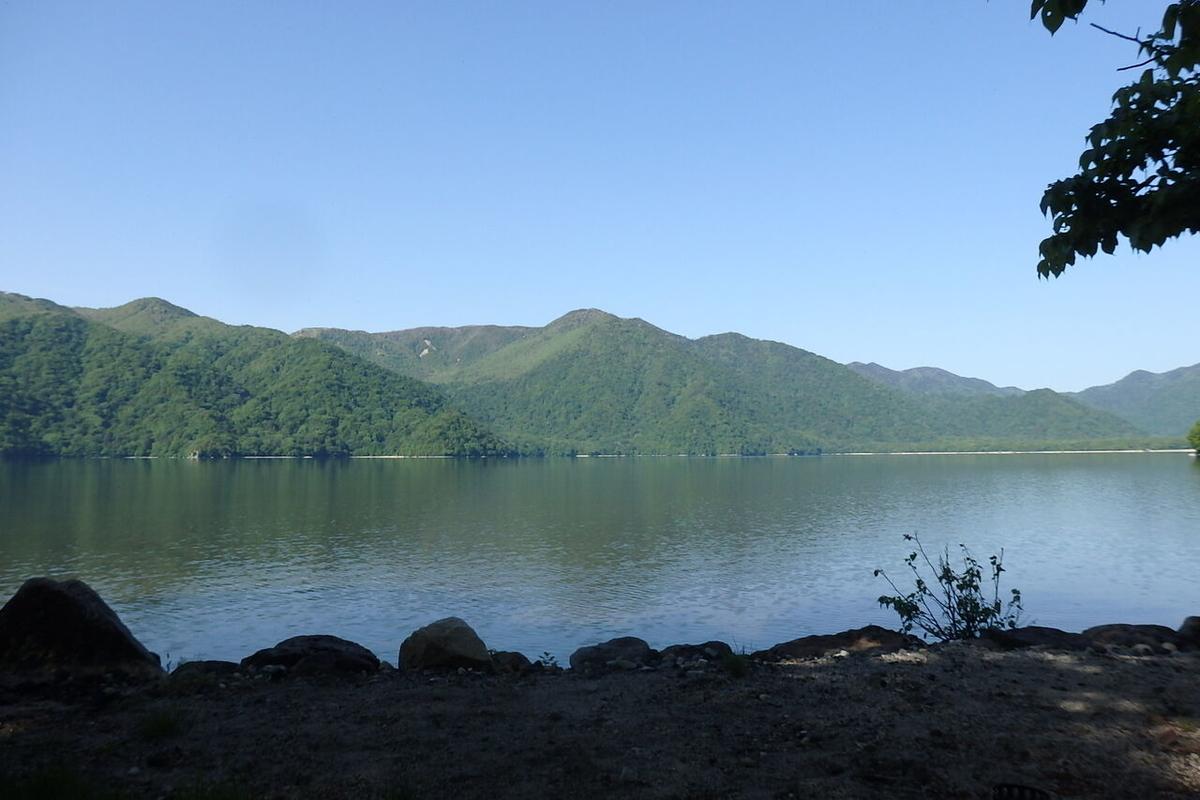 中禅寺湖菖蒲ケ浜キャンプ