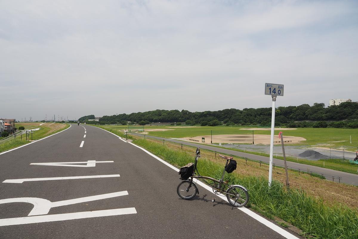 江戸サイ 江戸川CR 輪行